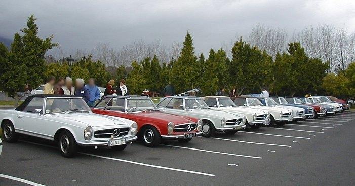 Mercedes Benz Classic Car Club South Africa