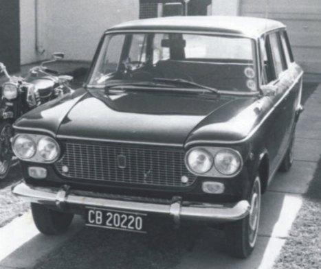 1961 Fiat 1500 World Activity