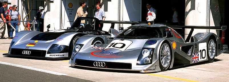 ... Audi R8C ...