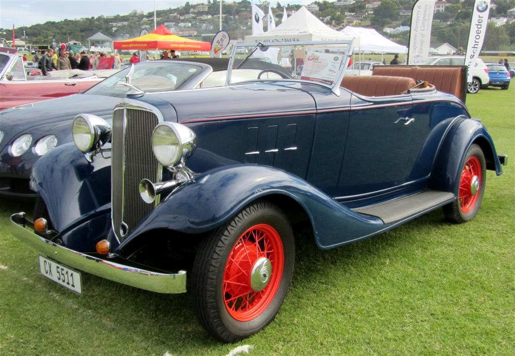 Picture Gallery of Cars in South Africa 1931 - 1940
